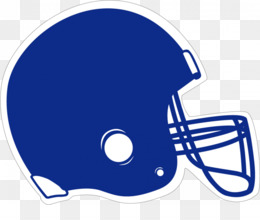 Royal blue facemask outline front football clipart image library library Football Helmet PNG - Orange Football Helmet, Football ... image library library