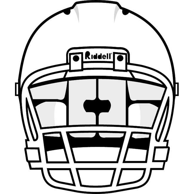 Royal blue facemask outline front football clipart clipart freeuse Images Of Football Helmets | Free download best Images Of ... clipart freeuse