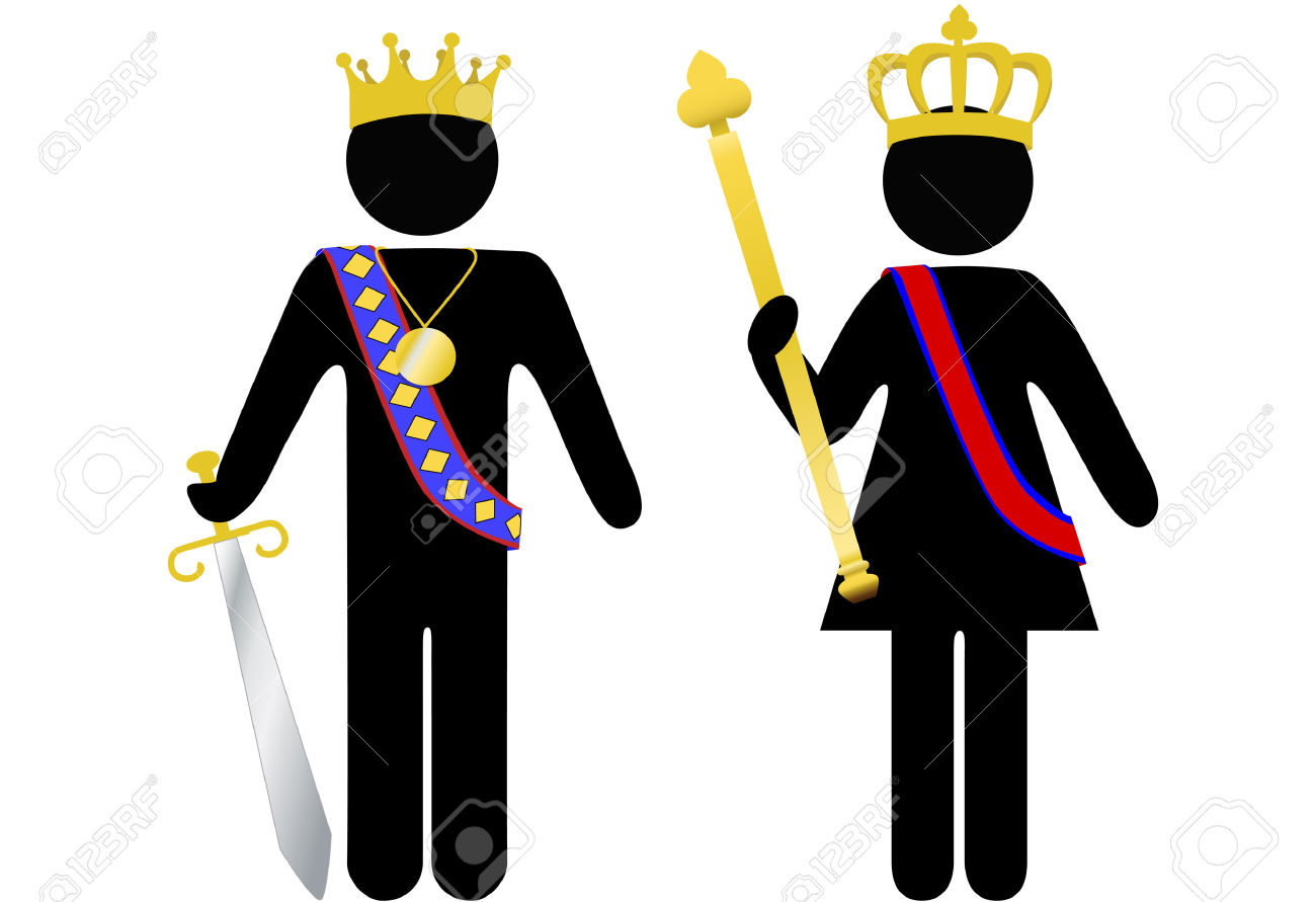 Royal blue king crown and sceptor clipart clip freeuse stock Crown and scepter clipart - ClipartFox clip freeuse stock