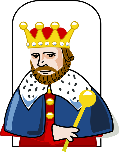 Royal blue king crown and sceptor clipart clipart royalty free library Free vector graphic: King, Crown, Scepter, Robe, Royal - Free ... clipart royalty free library