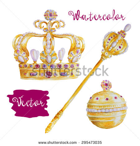 Royal blue king crown and sceptor clipart image freeuse download King Scepter Stock Images, Royalty-Free Images & Vectors ... image freeuse download
