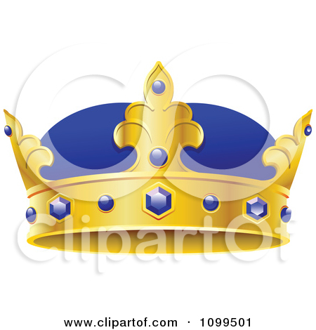 Royal blue king crown and sceptor clipart vector library Royalty-Free (RF) Kings Crown Clipart, Illustrations, Vector ... vector library