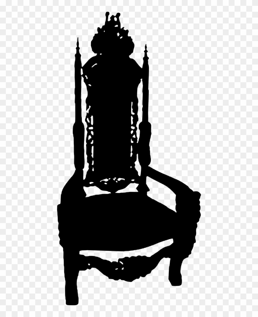 Royal chair clipart banner free download Chair,royal Chair,silhouette,king Chair,free Vector Clipart ... banner free download