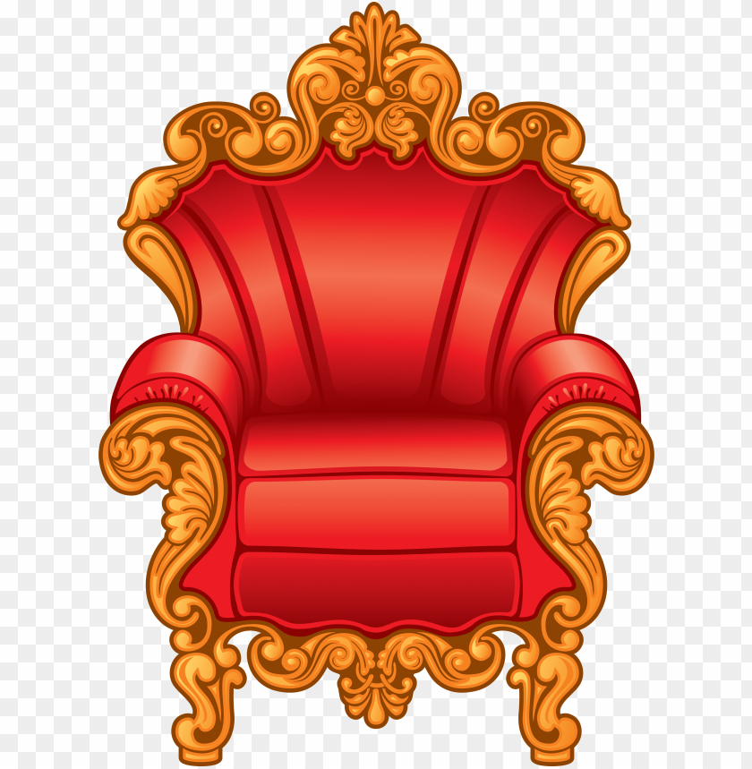 Royal chairs clipart jpg transparent download clipart of a red and gold royal king\'s throne chair - clip ... jpg transparent download