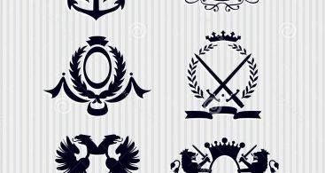 Royal crest clipart black and white library Royal Crest Clip Art Archives - Free Vector Art, Images ... black and white library