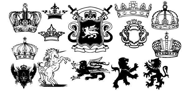 Royal crest clipart banner freeuse Free Crest Cliparts, Download Free Clip Art, Free Clip Art ... banner freeuse