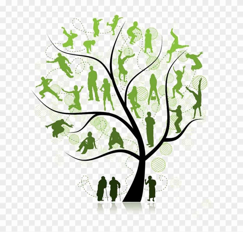 Royal family reinon clipart vector transparent Family Tree Png Pic - Family Tree Reunion Logo, Transparent ... vector transparent
