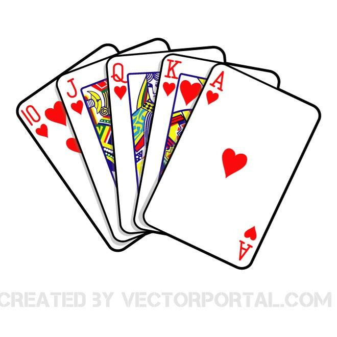 Royal flush diamonds clipart banner royalty free library Poker hand clipart PNG and cliparts for Free Download ... banner royalty free library