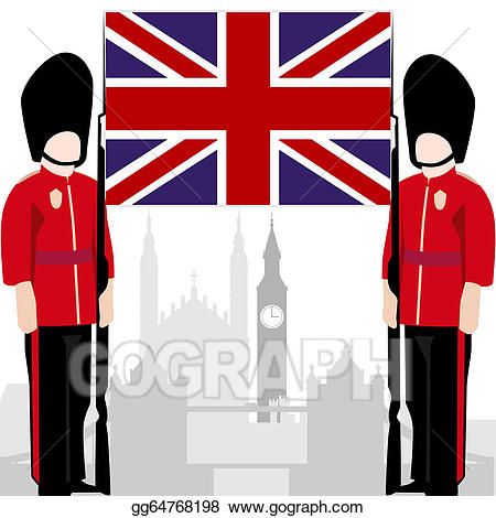 Royal guard clipart banner library stock Vector Art - British royal guard. EPS clipart gg64768198 ... banner library stock