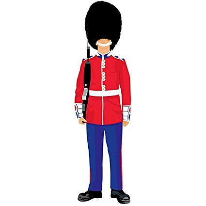 Royal guard clipart image freeuse stock Amazon.com: 7 ft. 1 in. Royal Guard Standee: Home & Kitchen image freeuse stock