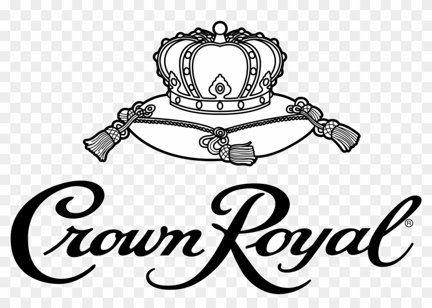 Royal logo clipart picture black and white download Crown Royal Logo Png Transparent - Crown Royal Logo Png, Png ... picture black and white download