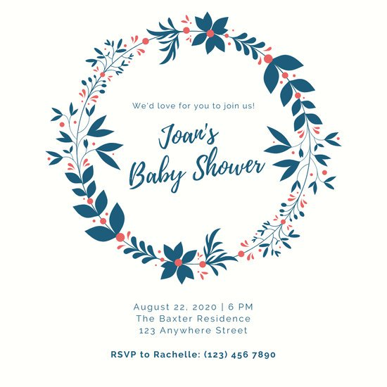 Royal princess baby shower invitation clipart template vector black and white download Customize 581+ Baby Shower Invitation templates online - Canva vector black and white download