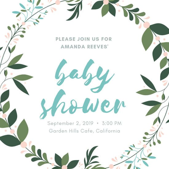 Royal princess baby shower invitation clipart template image transparent library Customize 581+ Baby Shower Invitation templates online - Canva image transparent library