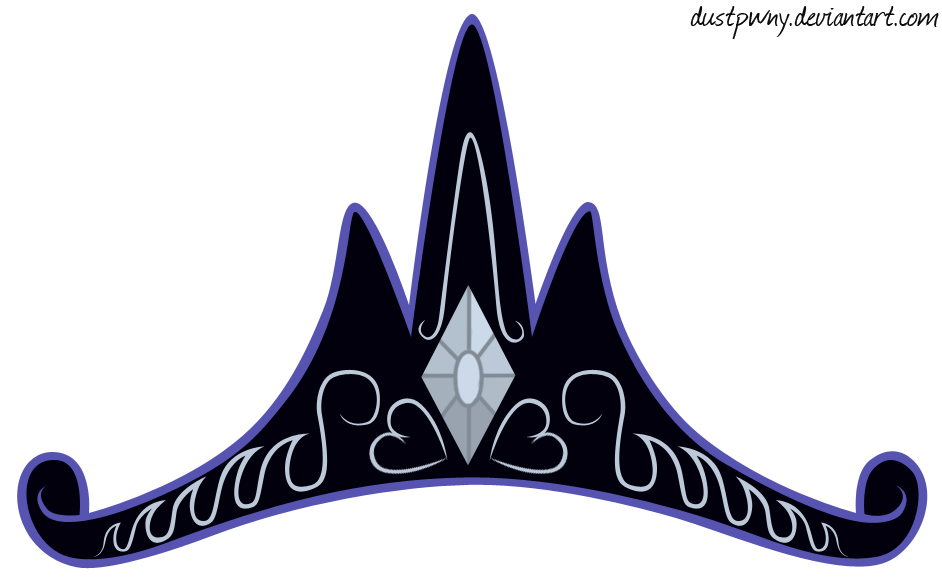 Princess Luna's New Crown - A Well Deserved Title by DustyPwny on ... clipart library