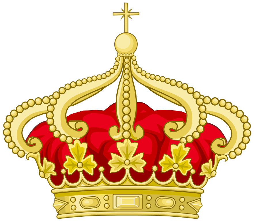 Royal princess gold crown clipart picture library library File:Royal Crown of Portugal.svg - Wikimedia Commons - Clip Art Library picture library library