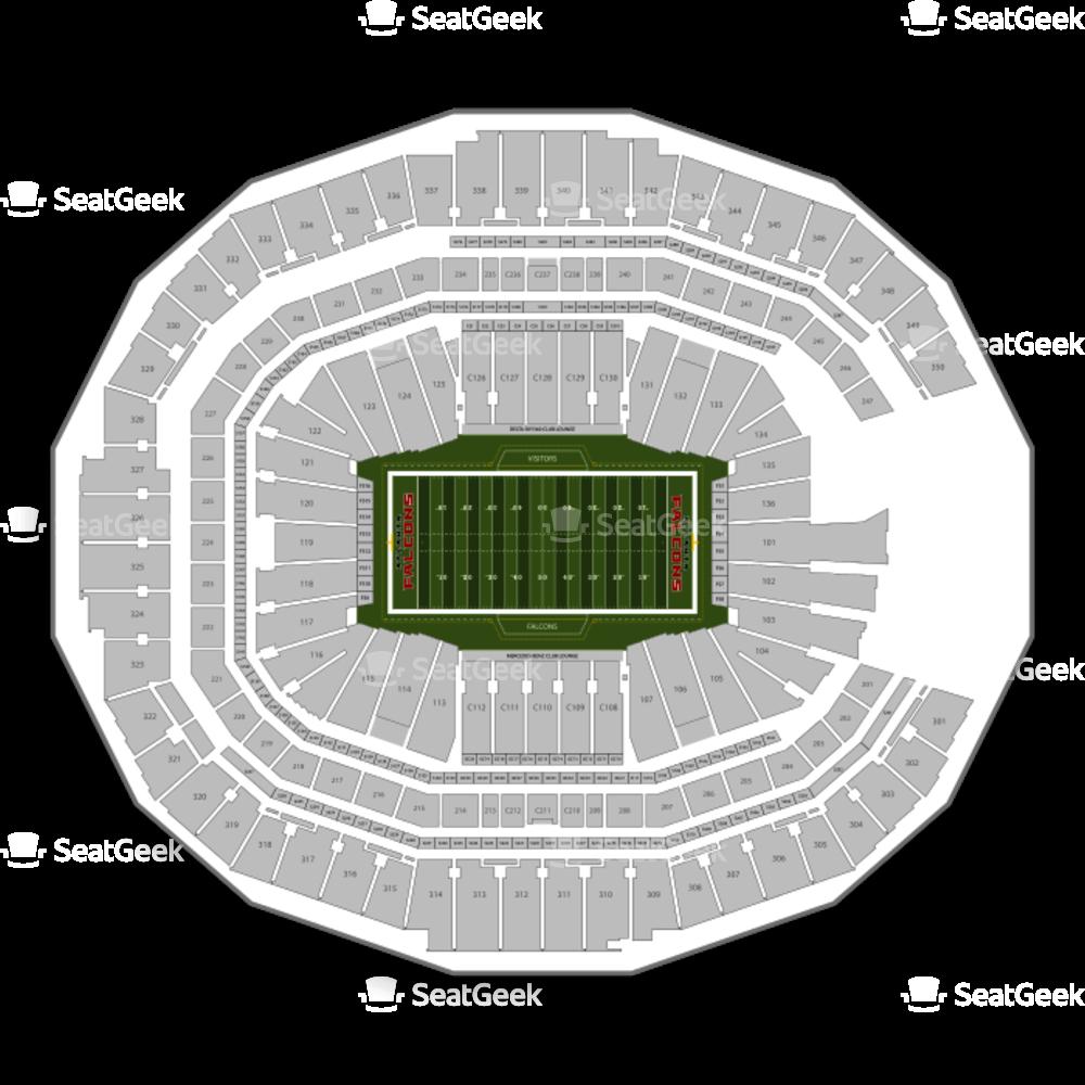 Royals baseball stadium clipart picture royalty free Atlanta Falcons Seating Chart Seating Chart   SeatGeek picture royalty free