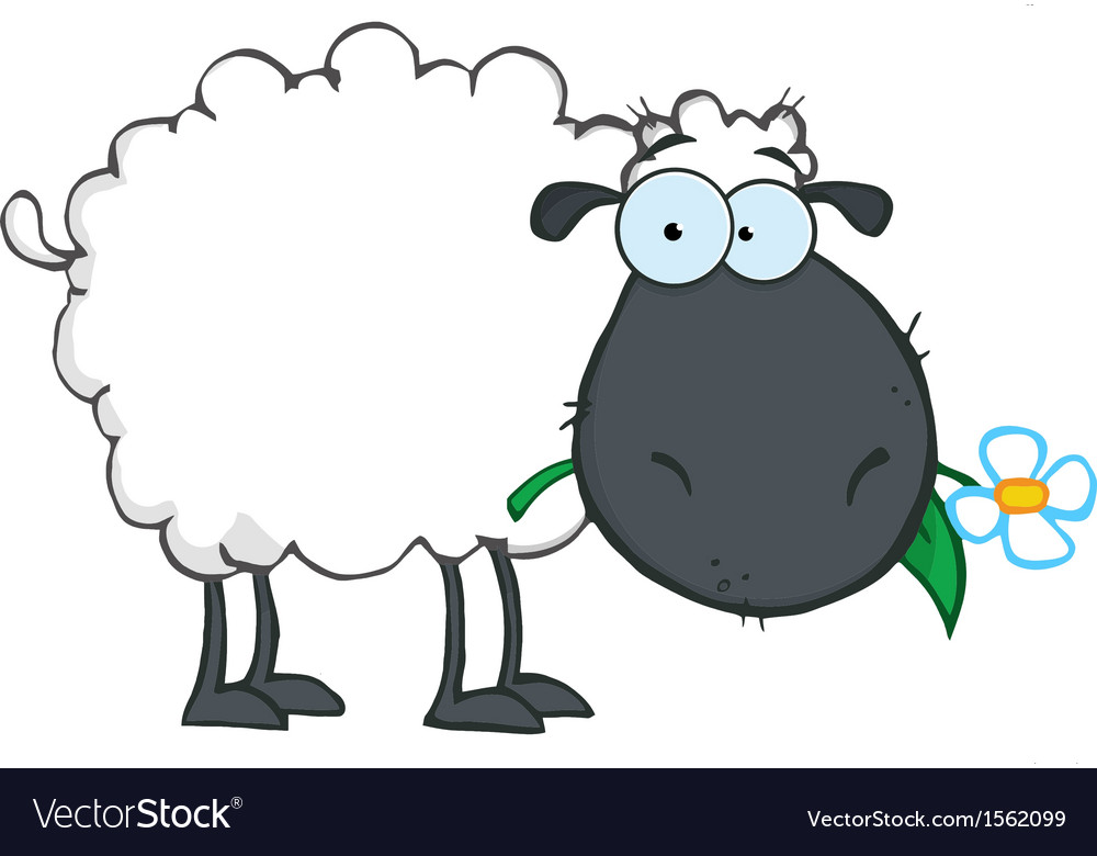 Royalt clipart graphic stock Royalty Free RF Clipart White Sheep Cartoon graphic stock