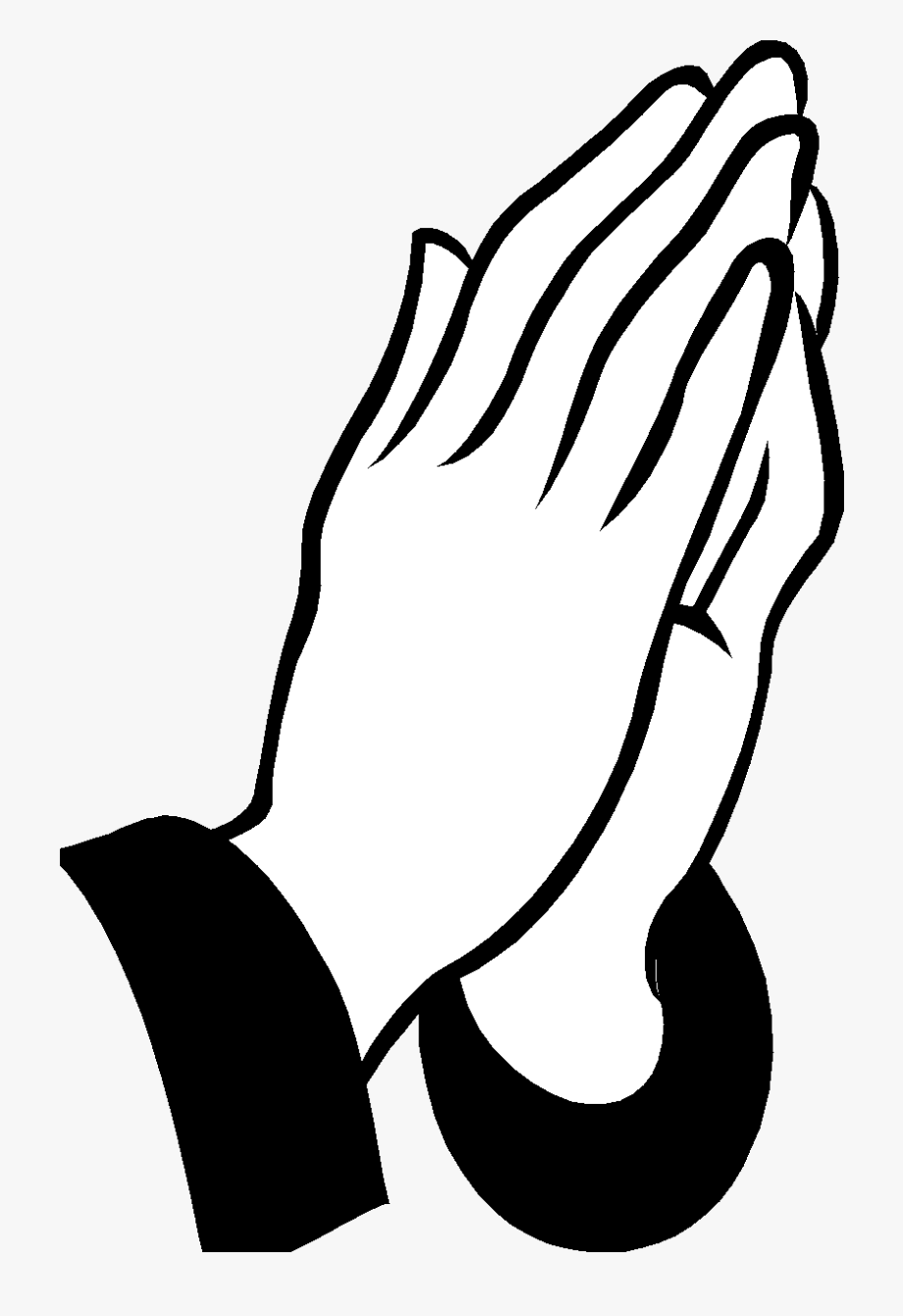 Royalty free black and white clipart vector free Royalty Free Download Jesus Black And White Clipart - Prayer ... vector free
