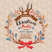 Royalty free clipart christmas party invatations cartoon graphic royalty free library Christmas Party Free Vector Art - (22,461 Free Downloads) graphic royalty free library