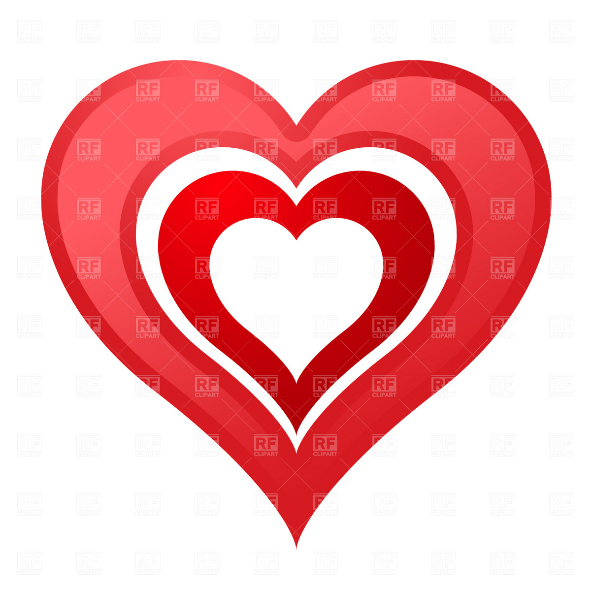 Royalty free clipart heart