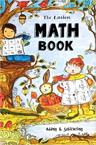 Royalty free clipart math adding and subtracting adults png black and white stock The Littlest Math Book - Adding & Subtracting: Fun-Schooling ... png black and white stock