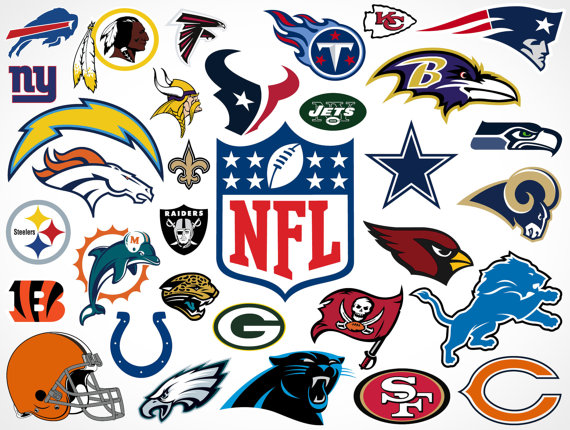 Nfl clipart image black and white library Free NFL Cliparts, Download Free Clip Art, Free Clip Art on ... image black and white library