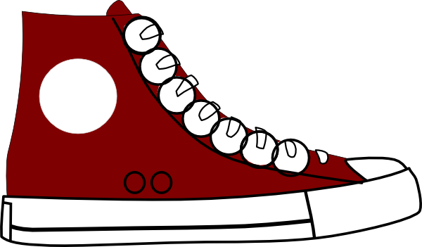 Sneaker clipart clip royalty free Free Tennis Shoes Clipart, Download Free Clip Art, Free Clip ... clip royalty free