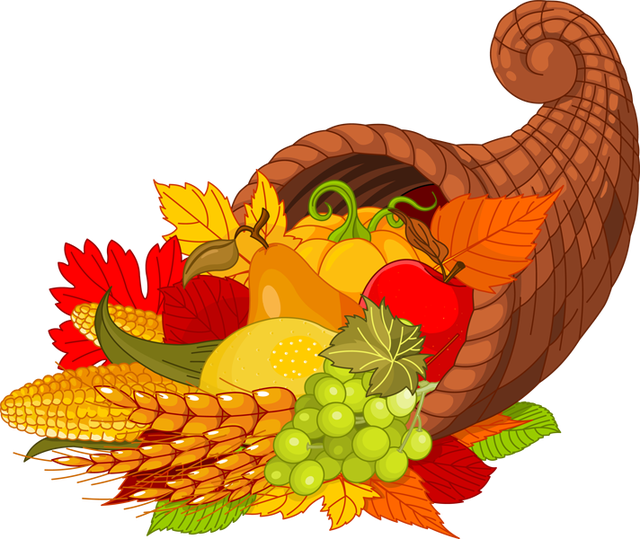Cornucopia Clipart Thanksgiving Dinner Free collection | Download ... clip art library stock