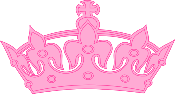 Tiara hot pink clipart image freeuse stock Free Clip Art Tiara   Pink Crown clip art - vector clip art ... image freeuse stock