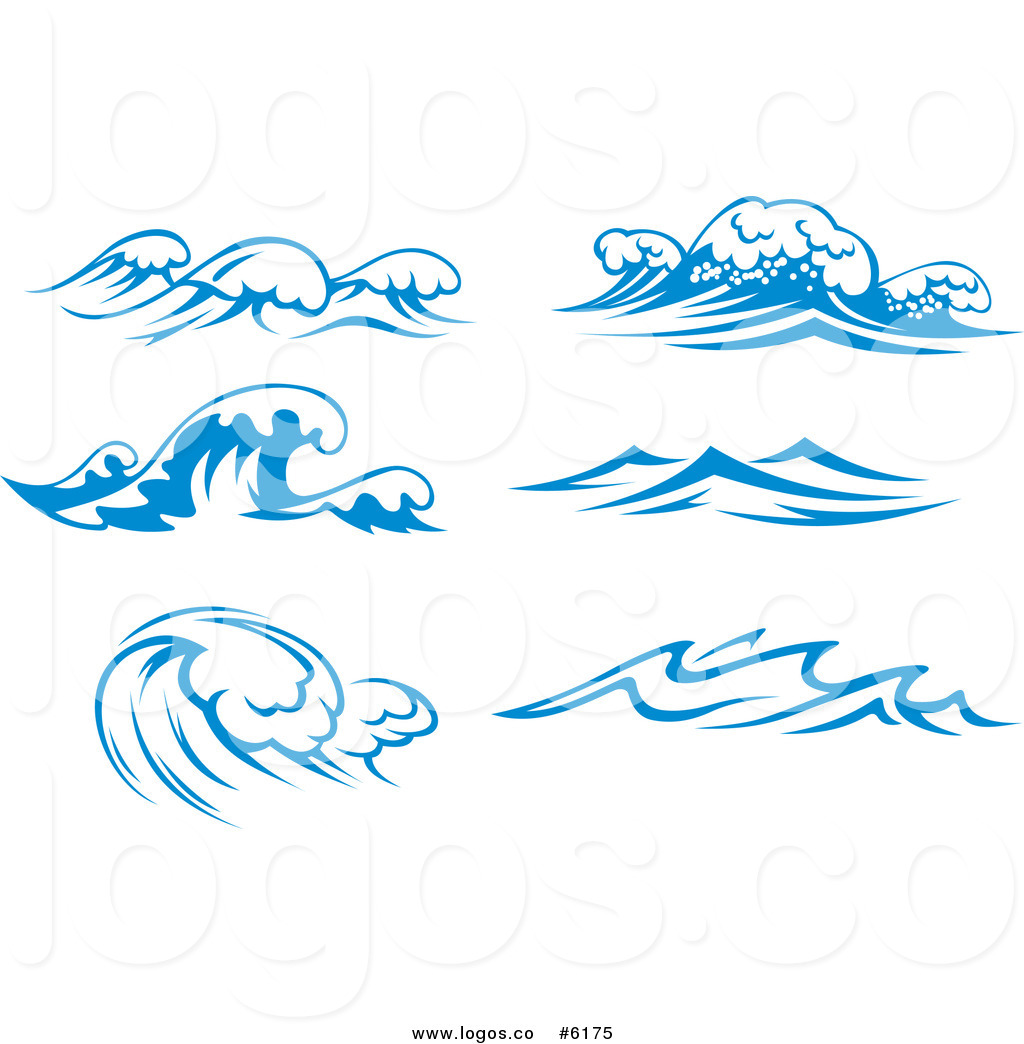 Royalty free clipart waves png free download Royalty Free Clip Art Vector Logos of Blue Ocean Surf Waves ... png free download