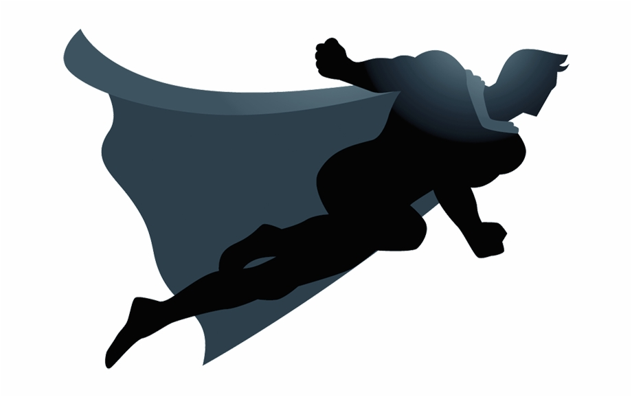 Royalty free png clipart png royalty free download Flying Superhero Silhouette Png Clip Art Royalty Free ... png royalty free download