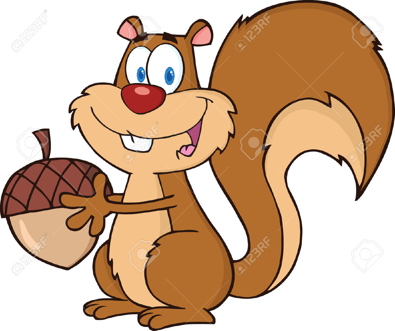 Royalty free squirrel clipart clip freeuse stock Best Squirrel Clipart #9577 - Clipartion.com clip freeuse stock