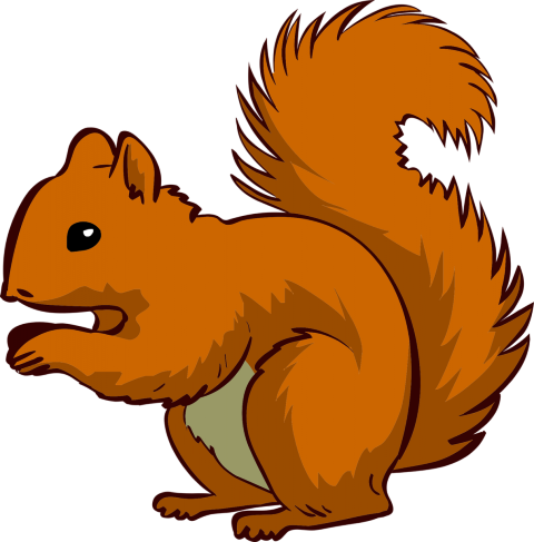 Royalty free squirrel clipart vector download Clipart of squirrels clipart images gallery for free ... vector download