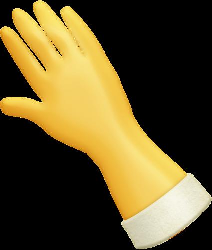 Rubber glove clipart graphic black and white stock RUBBER GLOVE | CLIP ART - CLEANING - CLIPART | Laundry art ... graphic black and white stock