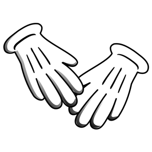 Rubber gloves clipart black and white vector library stock Free Medical Gloves Cliparts, Download Free Clip Art, Free ... vector library stock