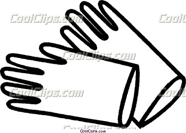Rubber gloves clipart black and white image black and white library rubber gloves Vector Clip art | Clipart Panda - Free Clipart ... image black and white library