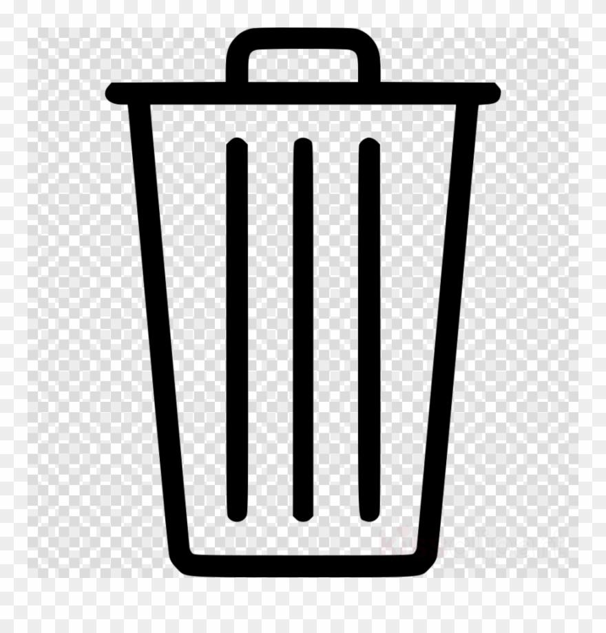 Rubbish bin clipart clipart black and white Trash Vector Png Clipart Rubbish Bins & Waste Paper - Trash ... clipart black and white