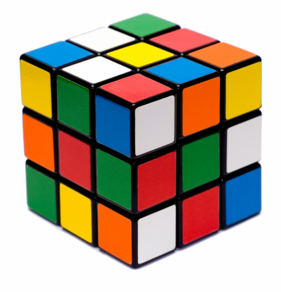 Rubix clipart graphic black and white stock Rubix Cube - Rubik\'s Cube Free PNG Images & Clipart Download ... graphic black and white stock