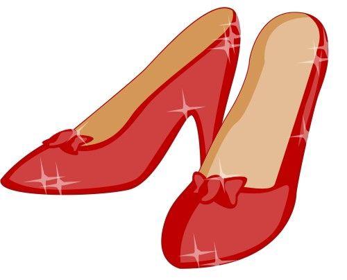 Ruby red slipper clipart clip art free stock Ruby Slippers Clip Art   Ruby slippers - Lta ... clip art free stock