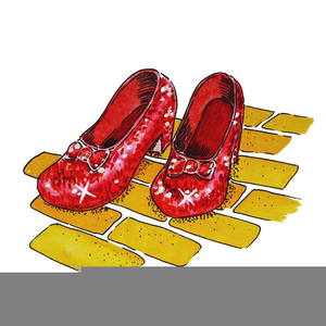 Ruby red slipper clipart clipart Ruby Slippers Clipart   Free Images at Clker.com - vector ... clipart