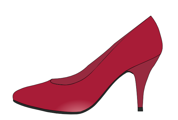 Ruby red slipper clipart royalty free stock Ruby Red Slippers Clip Art at Clker.com - vector clip art ... royalty free stock