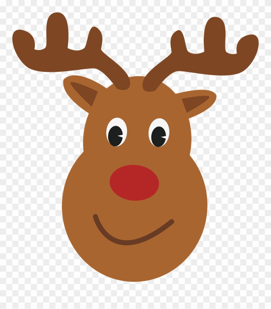Rudolph head clipart banner download Similar Images For Santa And Rudolph Pictures - Rudolf Head ... banner download