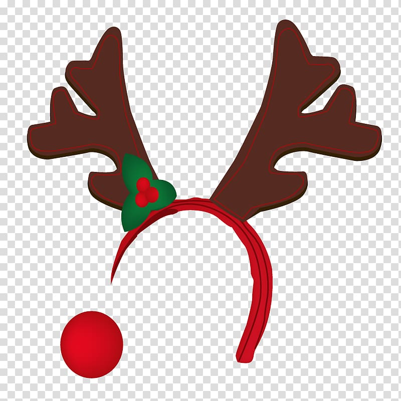 Rudolph nose clipart clipart library Reindeer Rudolph Antler , nose transparent background PNG ... clipart library