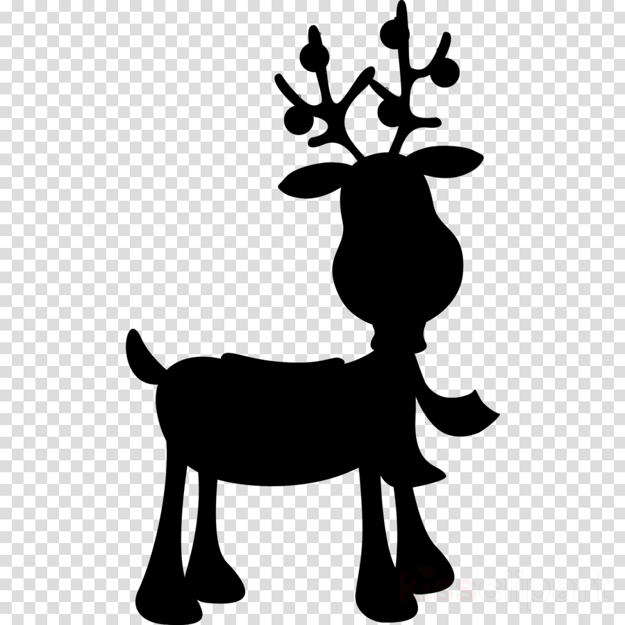 Rudolph silhouette clipart graphic stock Christmas Ornament Silhouette clipart - Reindeer, Silhouette ... graphic stock