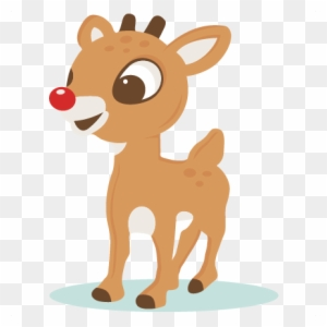 Rudolph the red nosed reindeer clipart images svg transparent stock Rudolph The Red Nosed Reindeer Clipart - Making-The-Web.com svg transparent stock