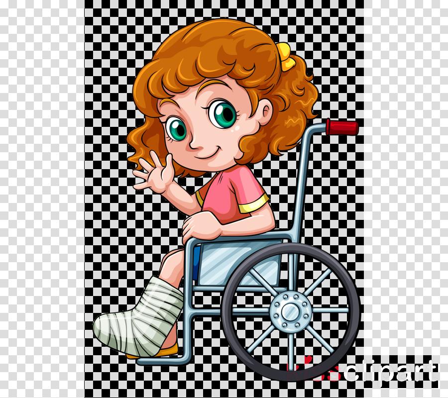Ruedas clipart png black and white download Download dibujos de niños con silla de ruedas clipart ... png black and white download