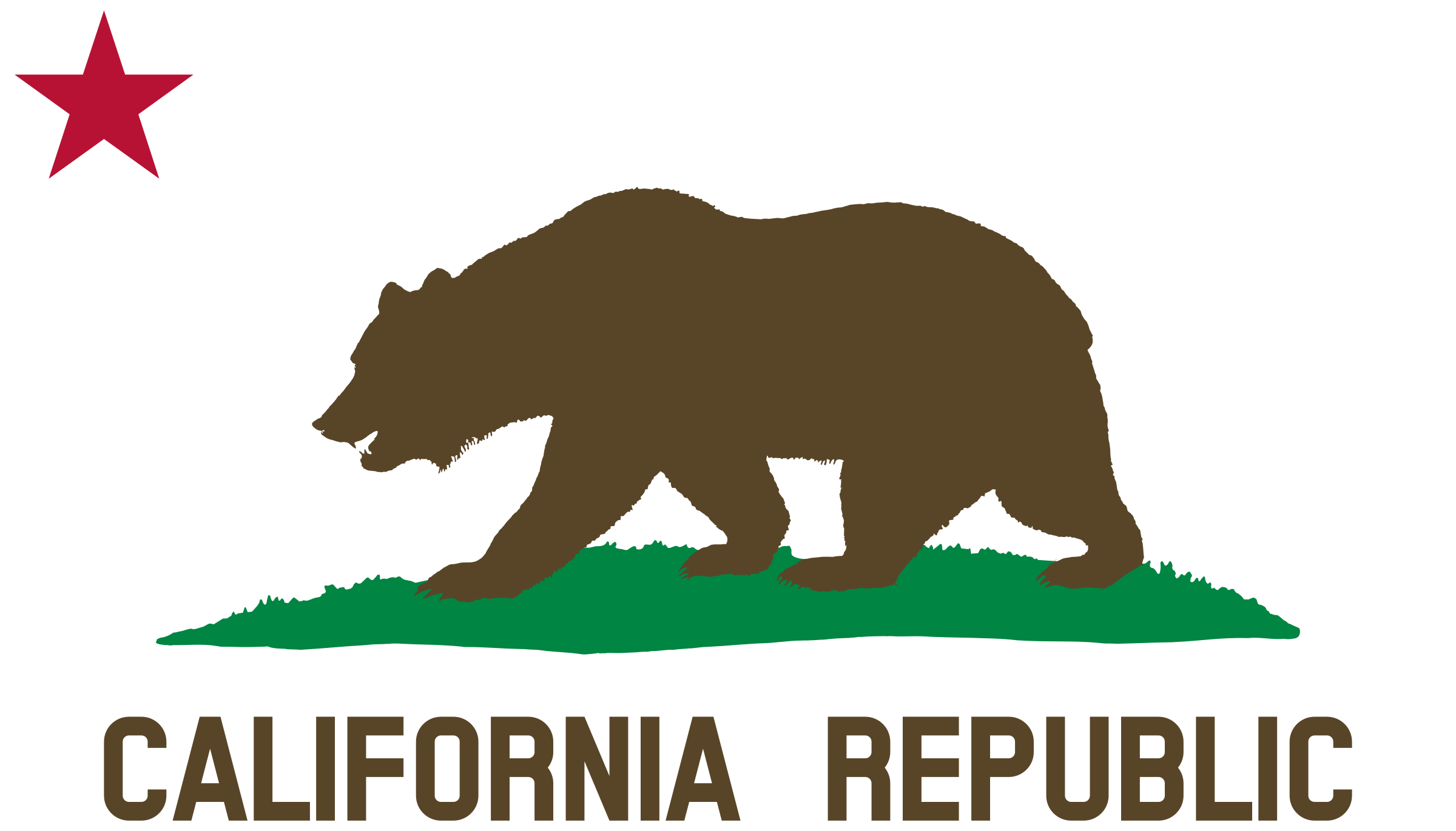 Rugged flag baseball clipart vector royalty free Clipart - Flag of California (Bear, Star, Plot, Title, Solid ... vector royalty free