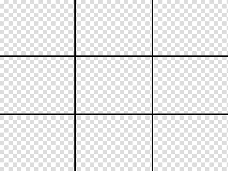 Rule of thirds grid clipart