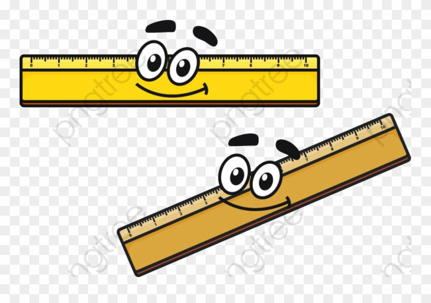 Ruler cartoon clipart picture black and white download Ruler Clipart Cartoon - Ruler Cartoon - Png Download ... picture black and white download