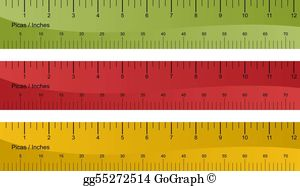 Rulers clipart clip black and white library Ruler Clip Art - Royalty Free - GoGraph clip black and white library